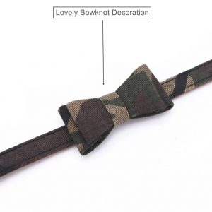 Army Bow Tie Collar
